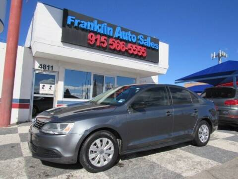 2013 Volkswagen Jetta for sale at Franklin Auto Sales in El Paso TX