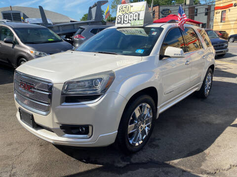 2013 GMC Acadia for sale at Drive Deleon in Yonkers NY