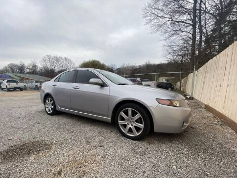 2005 Acura TSX for sale at Tennessee Valley Wholesale Autos LLC in Huntsville AL