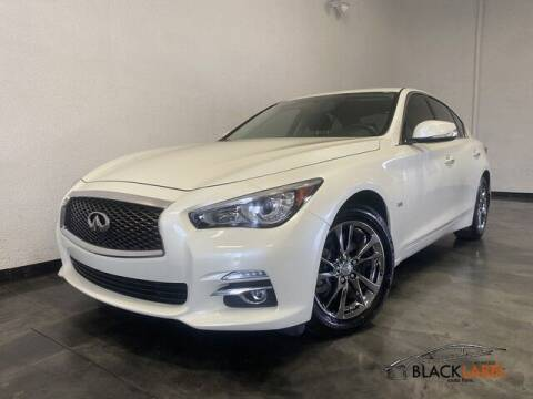 2017 Infiniti Q50 for sale at BLACK LABEL AUTO FIRM in Riverside CA