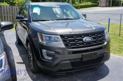 2016 Ford Explorer for sale at Michael's Auto Sales Corp in Hollywood FL