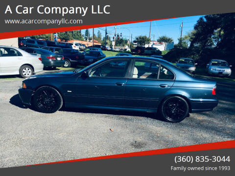 2002 BMW 5 Series for sale at A Car Company LLC in Washougal WA