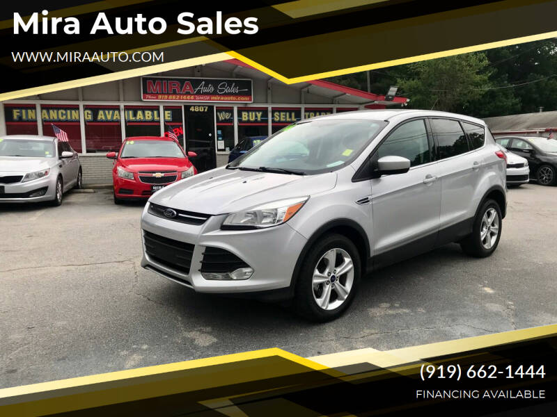 2016 Ford Escape for sale at Mira Auto Sales in Raleigh NC