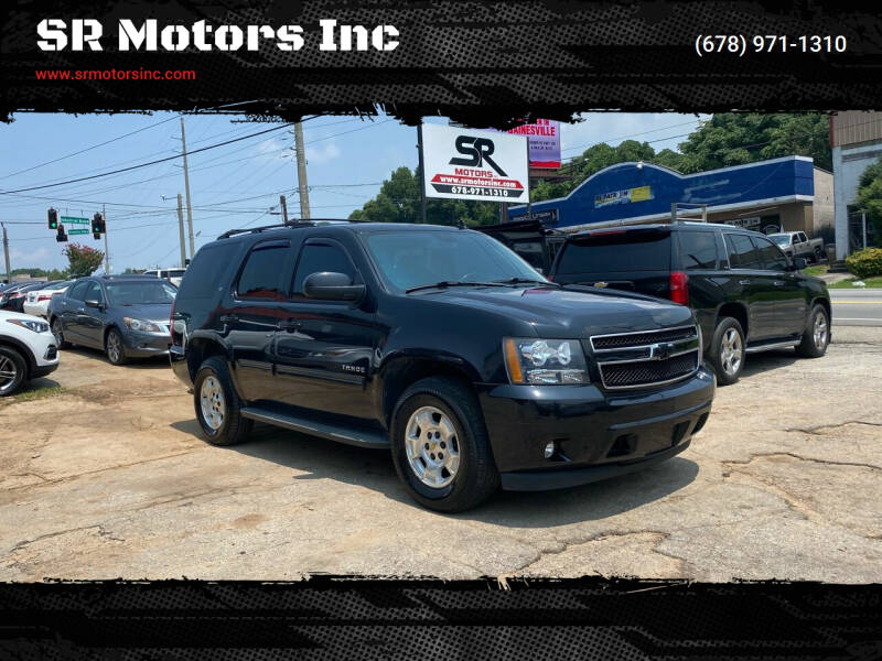 2012 Chevrolet Tahoe for sale at SR Motors Inc in Gainesville GA