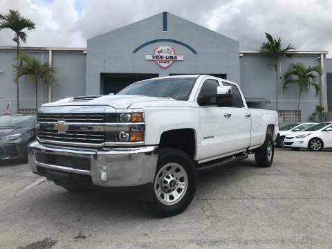 2018 Chevrolet Silverado 3500HD for sale at Ven-Usa Autosales Inc in Miami FL