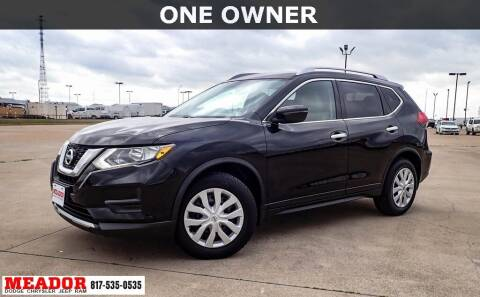 2017 Nissan Rogue for sale at Meador Dodge Chrysler Jeep RAM in Fort Worth TX