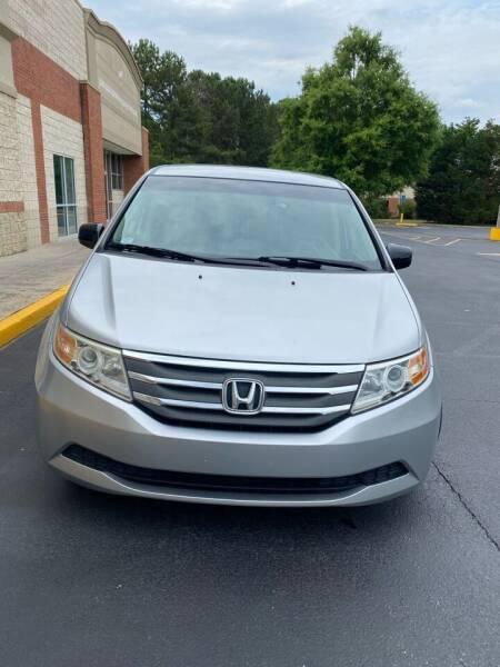 2011 Honda Odyssey for sale at Dalia Motors LLC in Winder GA