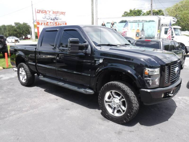 2008 Ford F-350 Super Duty for sale at LEGACY MOTORS INC in New Port Richey FL