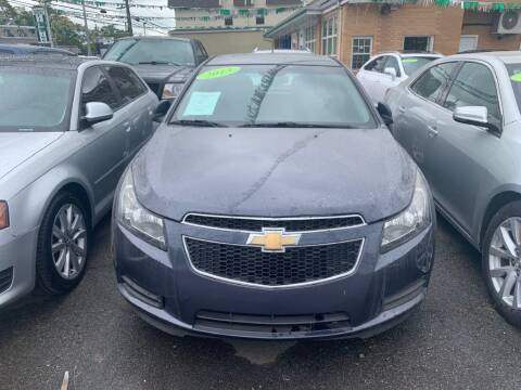 2013 Chevrolet Cruze for sale at Park Avenue Auto Lot Inc in Linden NJ