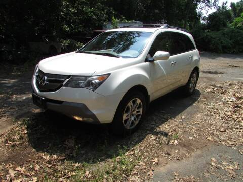 2008 Acura MDX for sale at Nutmeg Auto Wholesalers Inc in East Hartford CT