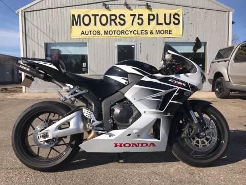 2016 Honda CBR600RR for sale at Motors 75 Plus in Saint Cloud MN