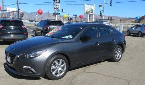 2015 Mazda MAZDA3 for sale at Luxor Motors Inc in Pacoima CA