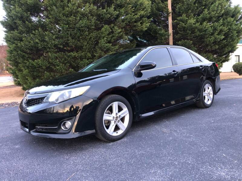 2012 Toyota Camry for sale at GTO United Auto Sales LLC in Lawrenceville GA