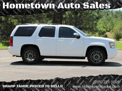 2010 Chevrolet Tahoe for sale at Hometown Auto Sales - SUVS in Jasper AL