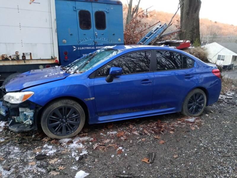 2017 Subaru WRX for sale at Family Auto Center in Waterbury CT