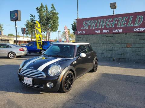 2009 MINI Cooper for sale at SPRINGFIELD BROTHERS LLC in Fullerton CA