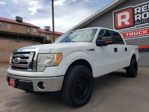 2010 Ford F-150 for sale at Red Rock Auto Sales in Saint George UT