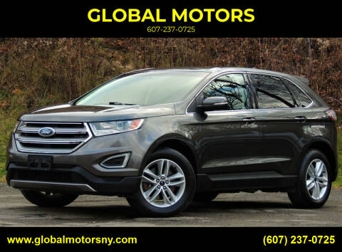 2016 Ford Edge for sale at GLOBAL MOTORS in Binghamton NY