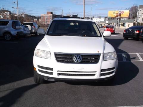 2006 Volkswagen Touareg for sale at Sharp Auto Center in Worcester MA