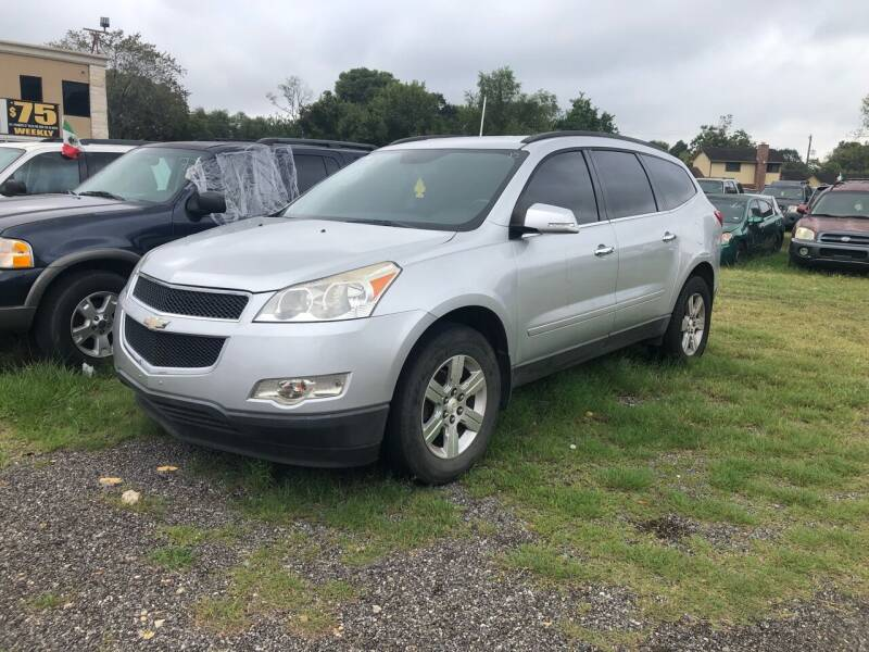 2012 Chevrolet Traverse for sale at FREDY CARS FOR LESS in Houston TX