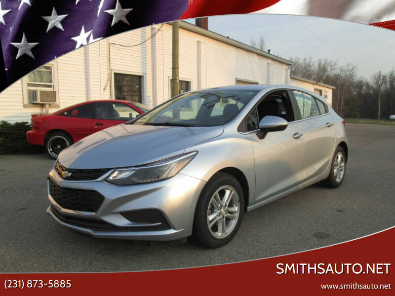 2017 Chevrolet Cruze for sale at SmithsAuto.net in Hart MI