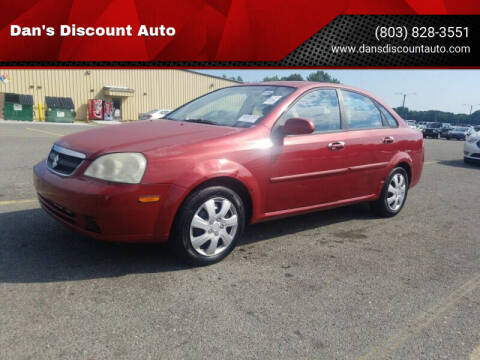 2006 Suzuki Forenza for sale at Dan's Discount Auto in Gaston SC