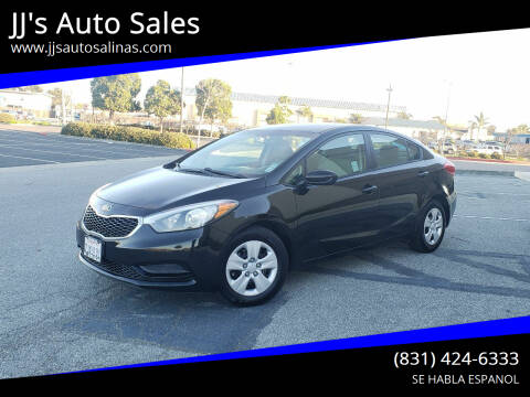 2015 Kia Forte for sale at JJ's Auto Sales in Salinas CA
