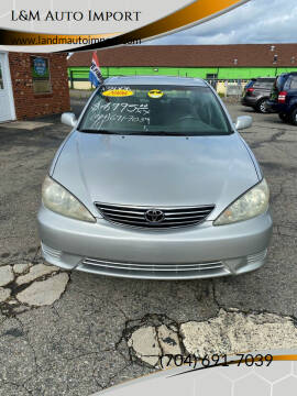 2006 Toyota Camry for sale at L&M Auto Import in Gastonia NC