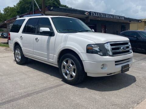 2013 Ford Expedition for sale at Texas Luxury Auto in Houston TX