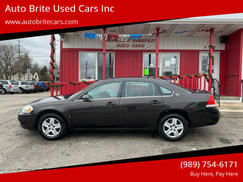 2008 Chevrolet Impala for sale at Auto Brite Used Cars Inc in Saginaw MI