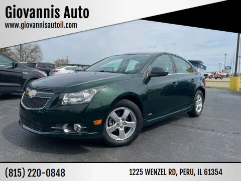 2014 Chevrolet Cruze for sale at Giovannis Auto in Peru IL