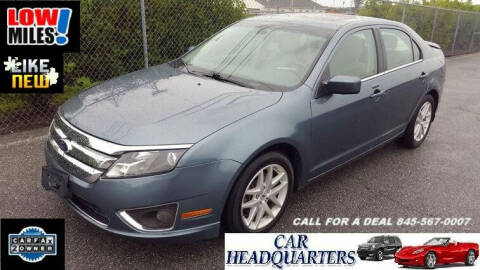 2012 Ford Fusion for sale at CAR  HEADQUARTERS in New Windsor NY