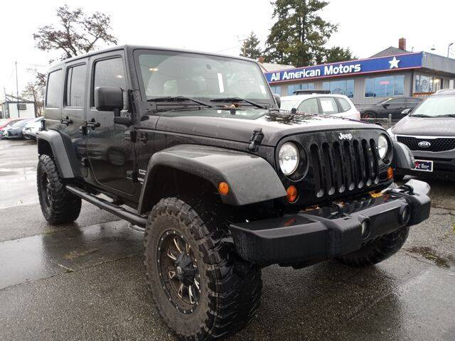 2011 Jeep Wrangler Unlimited for sale at All American Motors in Tacoma WA