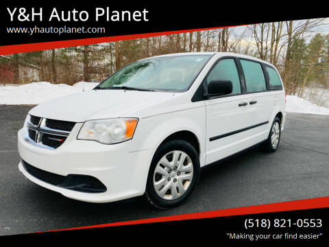 2016 Dodge Grand Caravan for sale at Y&H Auto Planet in West Sand Lake NY