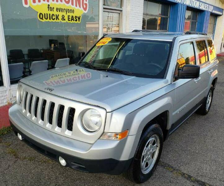 2014 Jeep Patriot for sale at AutoMotion Sales in Franklin OH