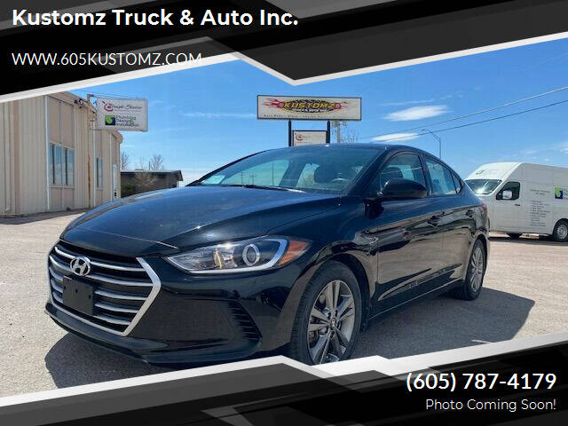 2018 Hyundai Elantra for sale at Kustomz Truck & Auto Inc. in Rapid City SD