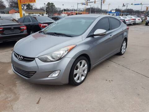 2012 Hyundai Elantra for sale at Nile Auto in Fort Worth TX