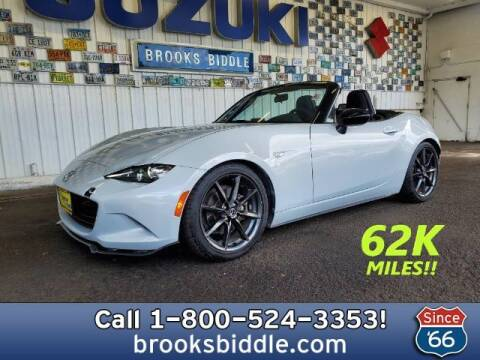 2016 Mazda MX-5 Miata for sale at BROOKS BIDDLE AUTOMOTIVE in Bothell WA