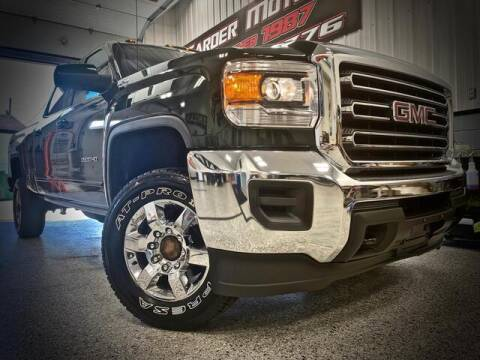 2015 GMC Sierra 2500HD for sale at Carder Motors Inc in Bridgeport WV