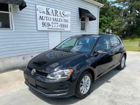 2015 Volkswagen Golf for sale at Karas Auto Sales Inc. in Sanford NC