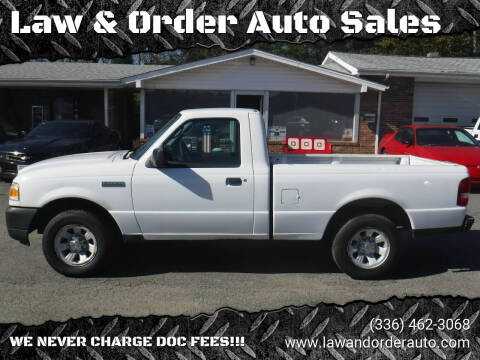 2007 Ford Ranger for sale at Law & Order Auto Sales in Pilot Mountain NC