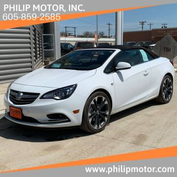 2016 Buick Cascada for sale at Philip Motor Inc in Philip SD