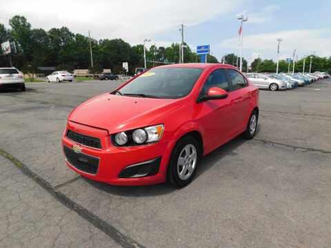 2015 Chevrolet Sonic for sale at Paniagua Auto Mall in Dalton GA