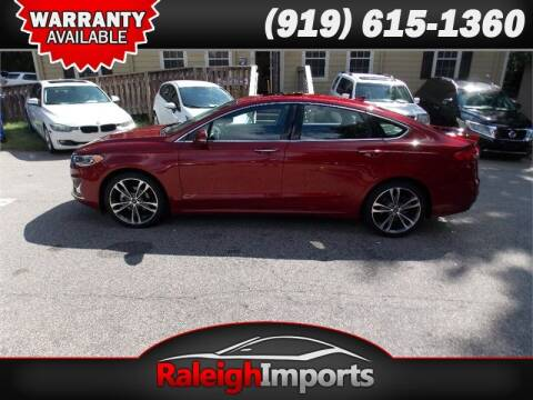 2019 Ford Fusion for sale at Raleigh Imports in Raleigh NC