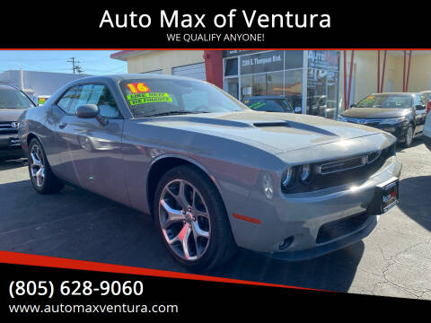 2015 Dodge Challenger for sale at Auto Max of Ventura - Automax 3 in Ventura CA