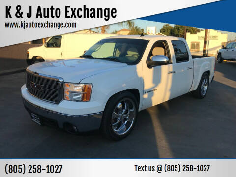 2007 GMC Sierra 1500 for sale at K & J Auto Exchange in Santa Paula CA