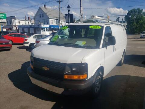 2009 Chevrolet Express Cargo for sale at TC Auto Repair and Sales Inc in Abington MA