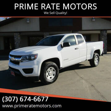 2020 Chevrolet Colorado for sale at PRIME RATE MOTORS in Sheridan WY