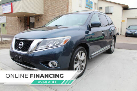 2013 Nissan Pathfinder for sale at K & L Auto Sales in Saint Paul MN