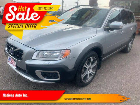 2012 Volvo XC70 for sale at Nations Auto Inc. in Denver CO